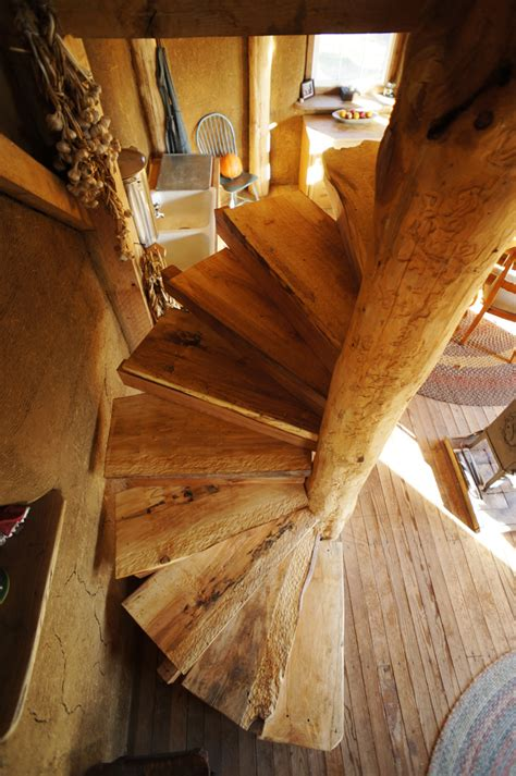 Diy Wood Deck Spiral Staircase