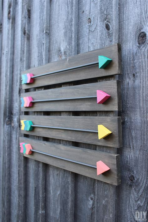 Diy Wood Decor Arrows