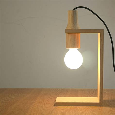 Diy Wood Desk Lamp Ideas Pinterest