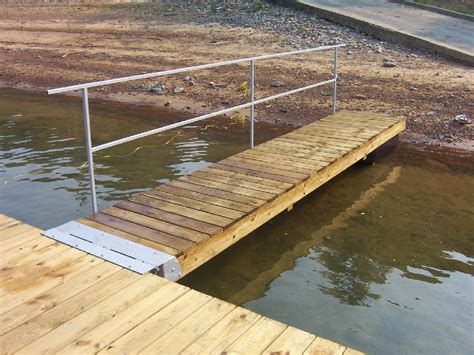 Diy Wood Dock Ramp