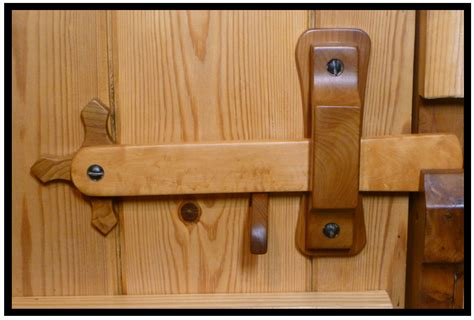 Diy Wood Door Latch