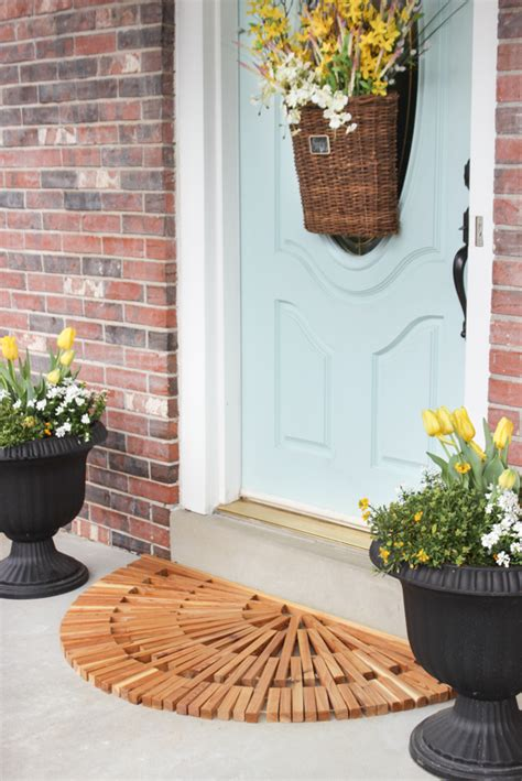 Diy Wood Door Mat