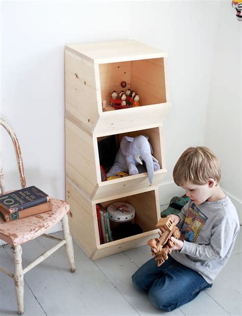 Diy Wood Dvd Bins Toy