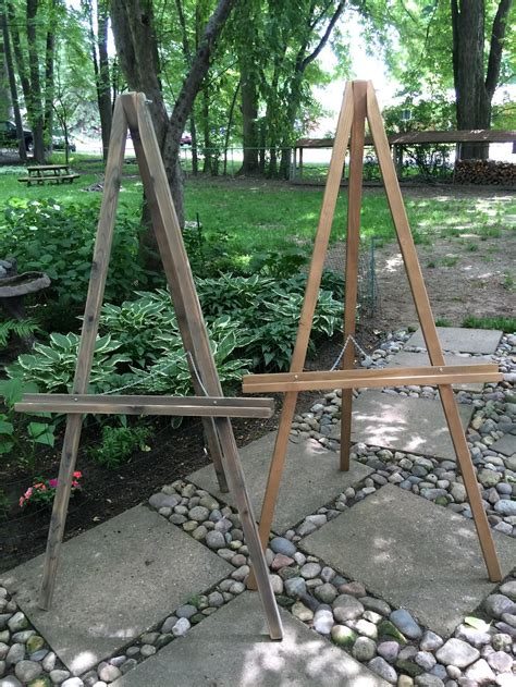 Diy Wood Easel With Hinge