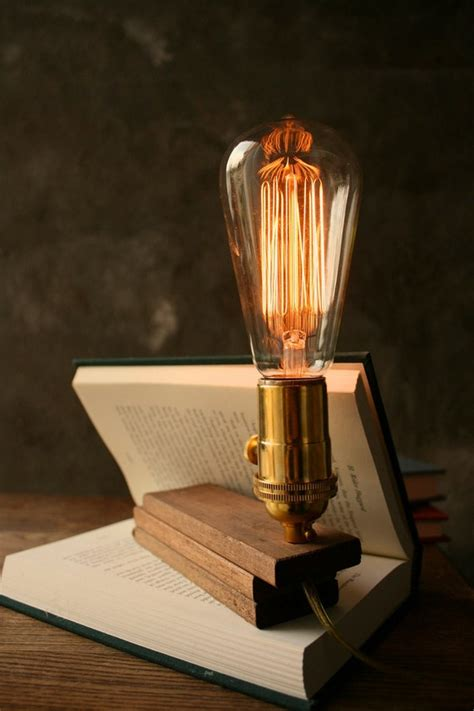 Diy Wood Edison Lamp Bulbs