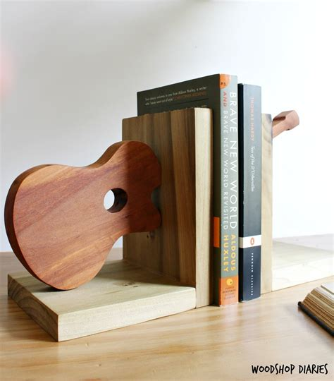 Diy Wood Epoxy Bookends