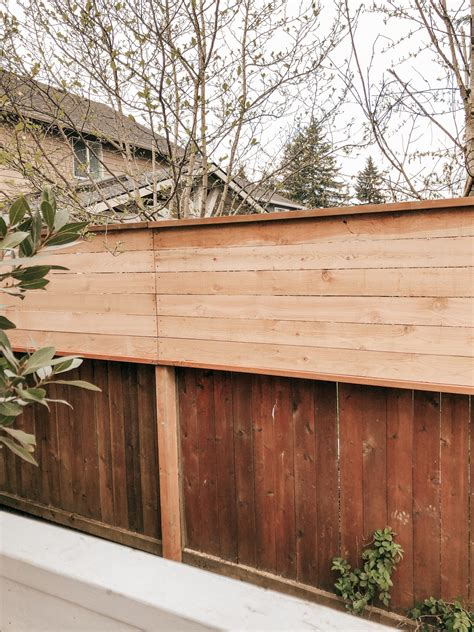 Diy Wood Fence Extension