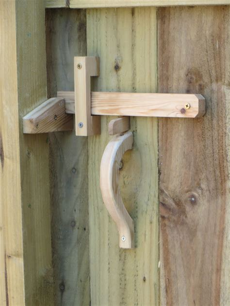 Diy Wood Fence Gate Lock