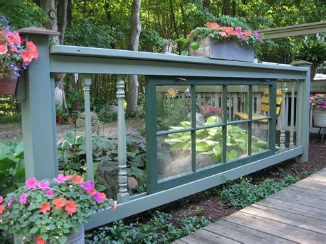 Diy Wood Fence Wirh Panels For Windows