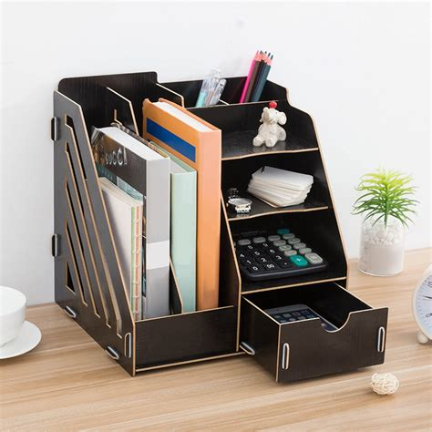 Diy Wood File Organizer