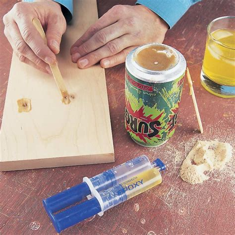 Diy Wood Filler Epoxy