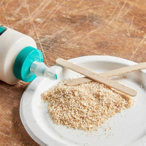 Diy Wood Filler Sawdust Stainable Caulk