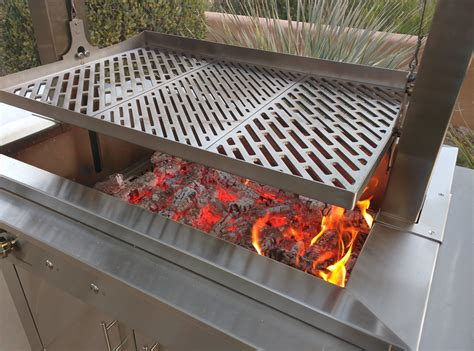 Diy Wood Fire Grill