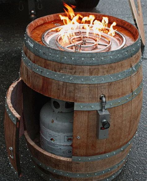 Diy Wood Fire Pit Barrell