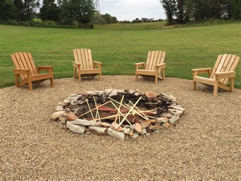 Diy Wood Fire Pit Outdoor Furniture 2x4