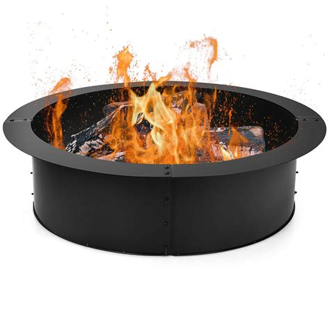 Diy Wood Fire Pit Ring