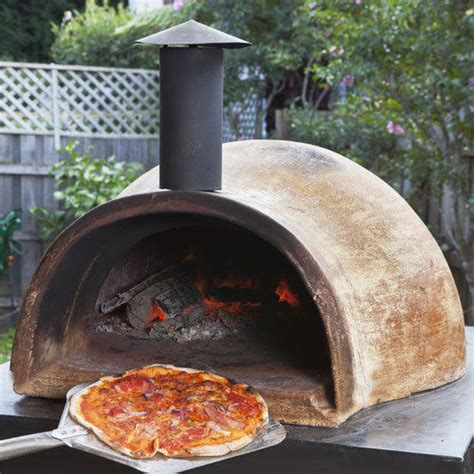 Diy Wood Fired Clay Pizza Oven