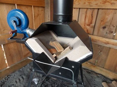 Diy Wood Fired Forge