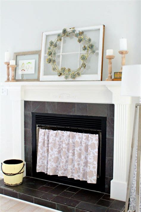 Diy Wood Fireplace Covering Beadboard