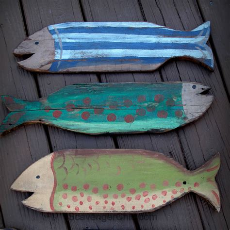 Diy Wood Fish Projects