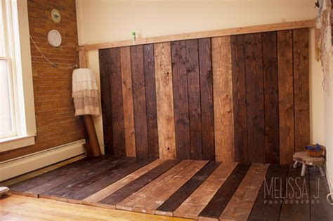 Diy Wood Floor Drop Photography Wallpaper