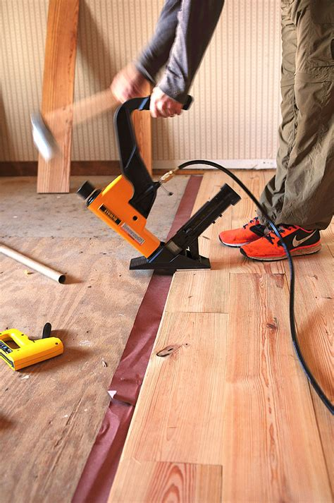 Diy Wood Floor Installation