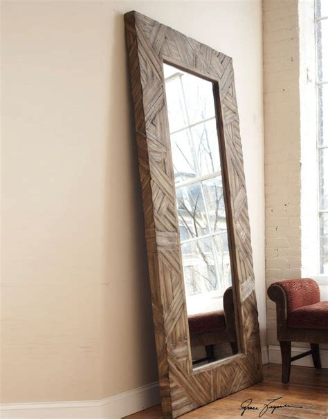 Diy Wood Floor Length Mirrors