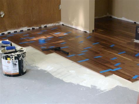 Diy Wood Floor Over Concrete Slab