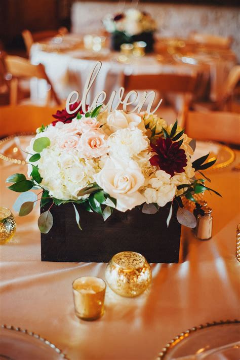 Diy Wood Flower Box Centerpieces