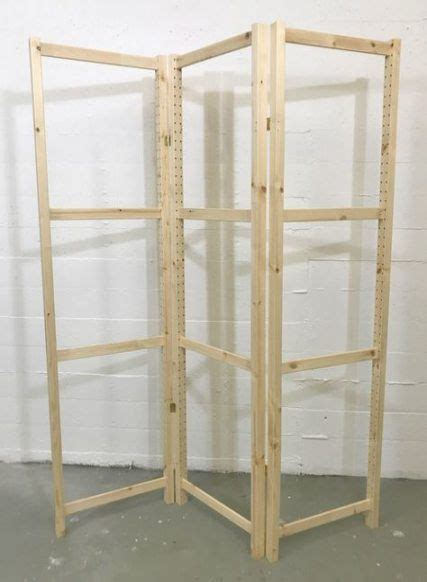 Diy Wood Folding Room Divider