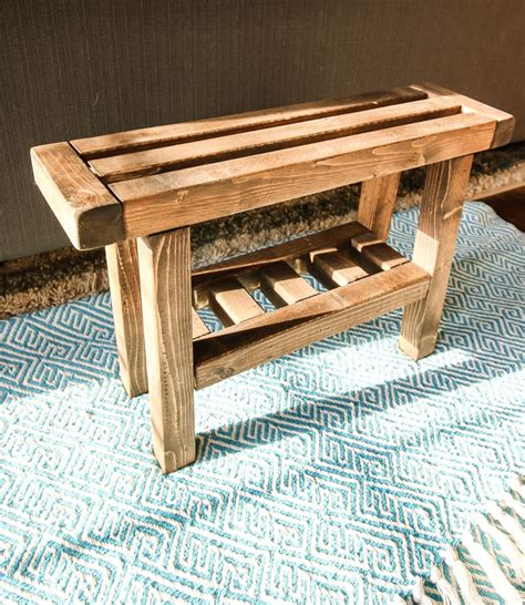 Diy Wood Foot Rest