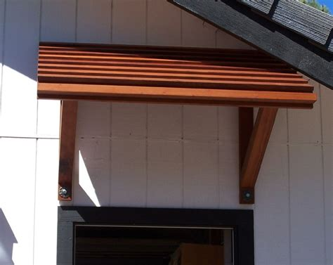 Diy Wood Frame Awnings