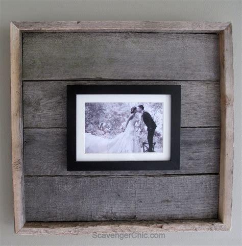 Diy Wood Frame On Palette