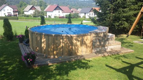 Diy Wood Frame Pool