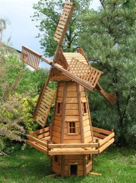 Diy Wood Frame Windmill