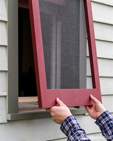 Diy Wood Frame Window Screen
