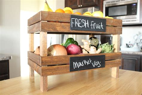 Diy Wood Fruit Crate