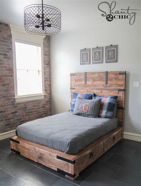 Diy Wood Full Size Bed