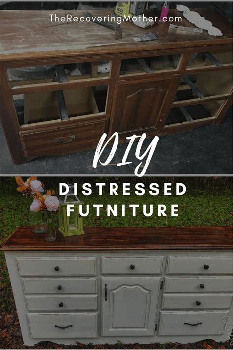 Diy Wood Furniture Distressed Neoclassical Transform