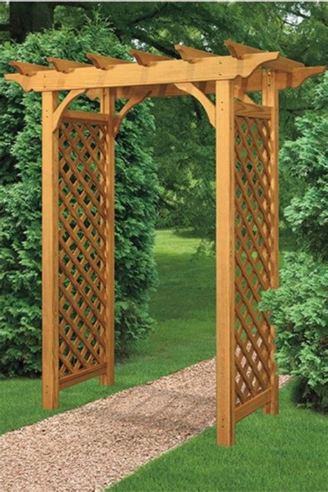 Diy Wood Garden Arbors