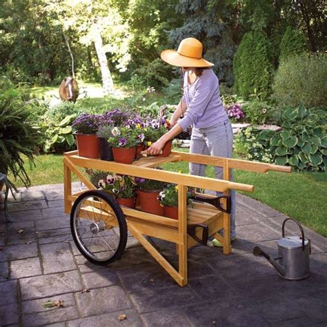 Diy Wood Garden Cart