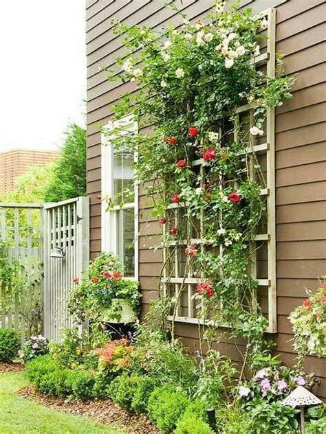 Diy Wood Garden Trellis Ideas