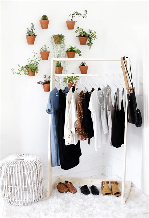 Diy Wood Garment Rack