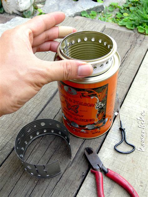 Diy Wood Gas Camp Stove
