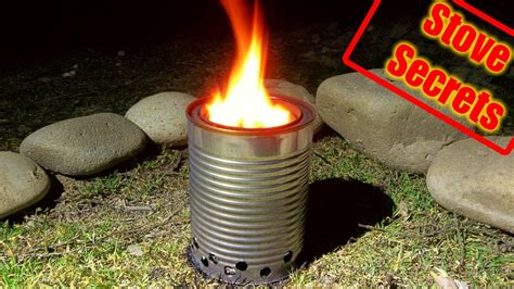 Diy Wood Gas Camp Stove Youtube