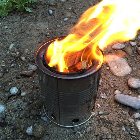 Diy Wood Gasification Stove Backpacking Gear