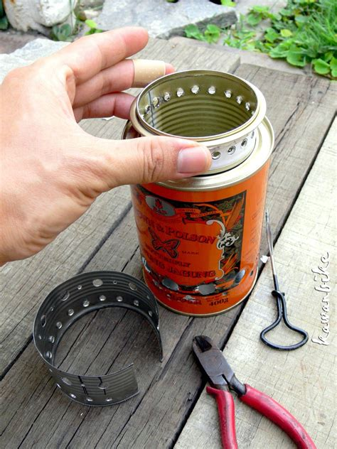 Diy Wood Gasifier Can Stove