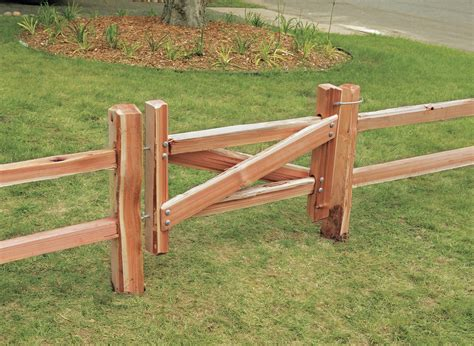 Diy Wood Gate For Split Rail Fence