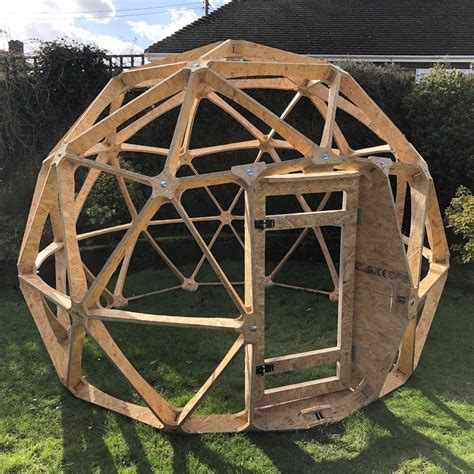Diy Wood Geodesic Dome Plans With Garage