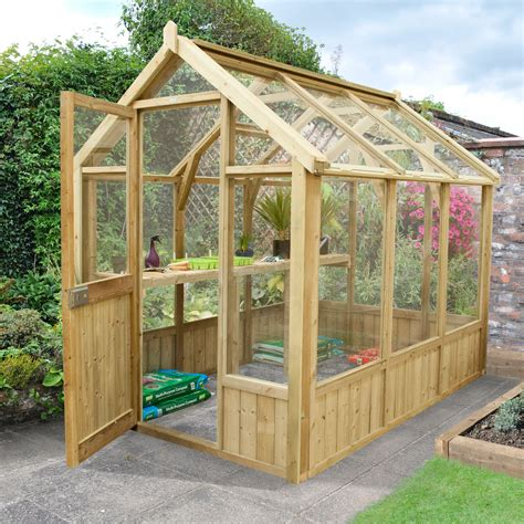 Diy Wood Glass Greenhouse Small